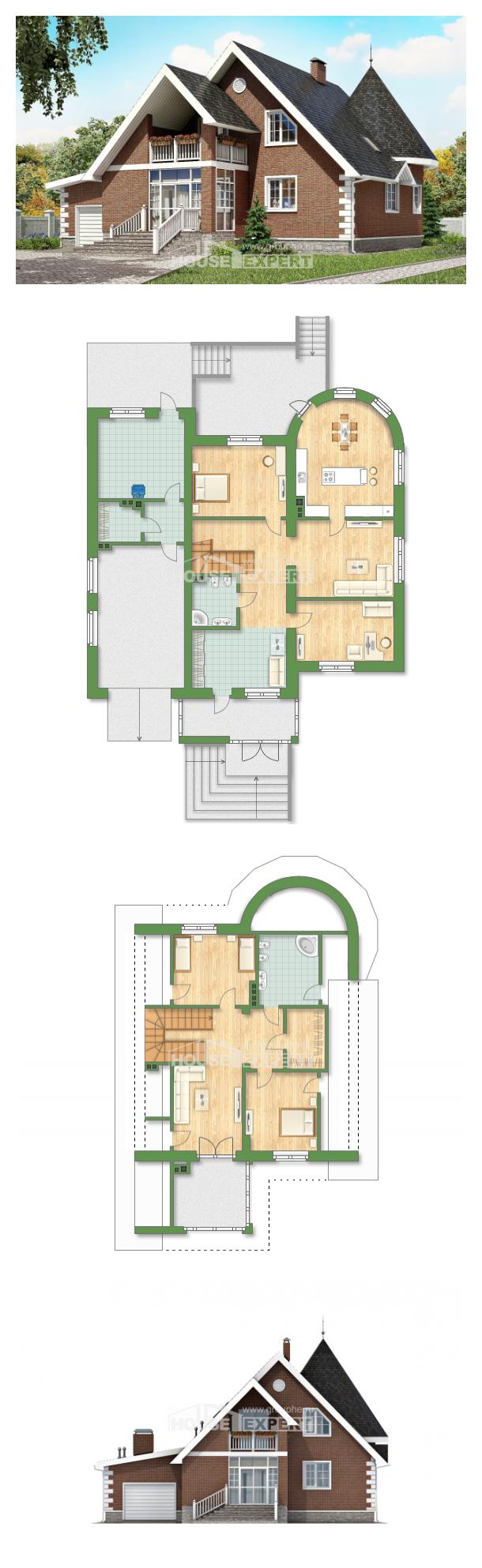 Projekt domu 220-002-L   House Expert