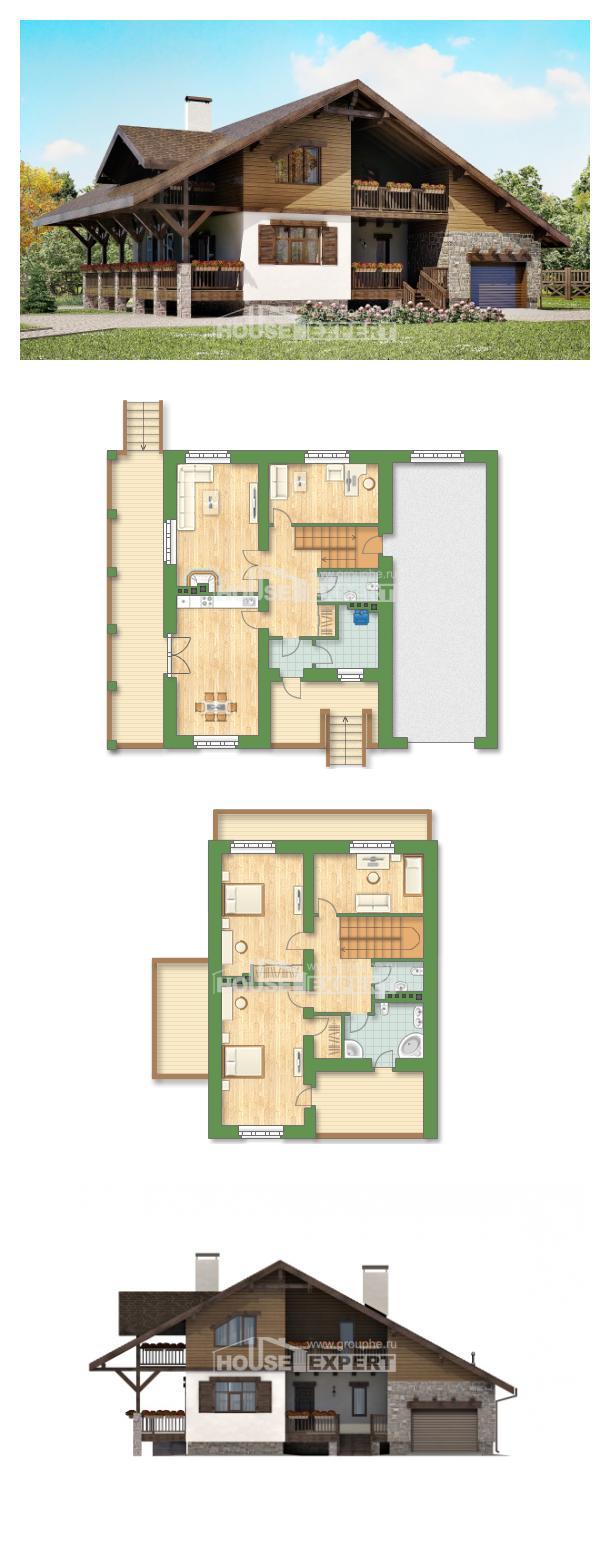 Projekt domu 220-005-R   House Expert