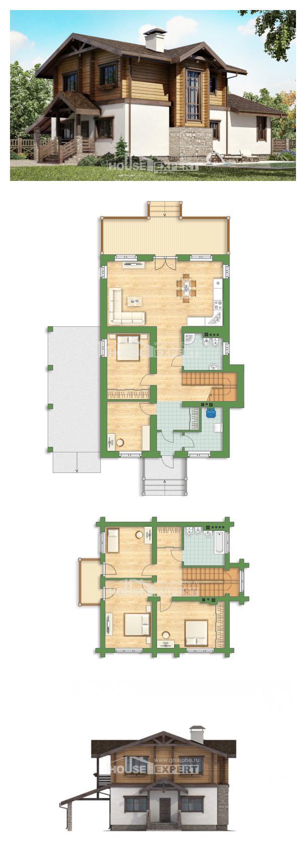 Проект дома 170-004-Л   House Expert