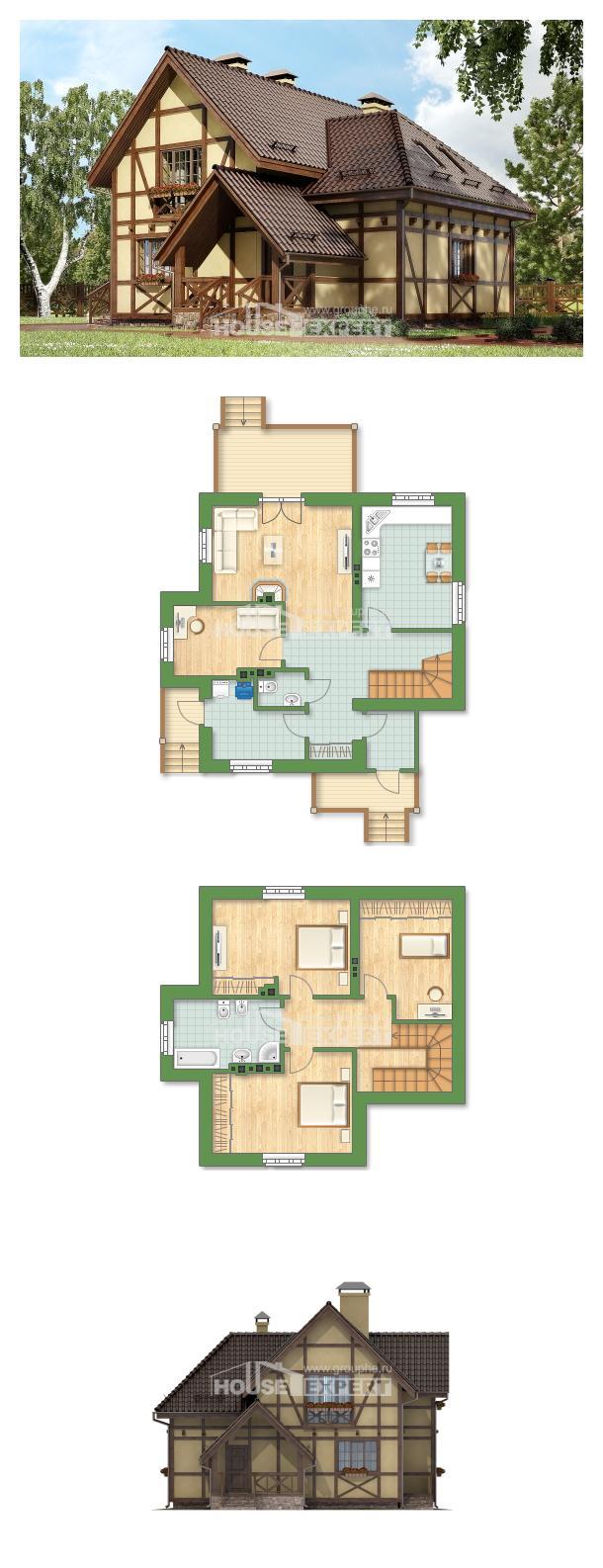 Projekt domu 160-003-R | House Expert