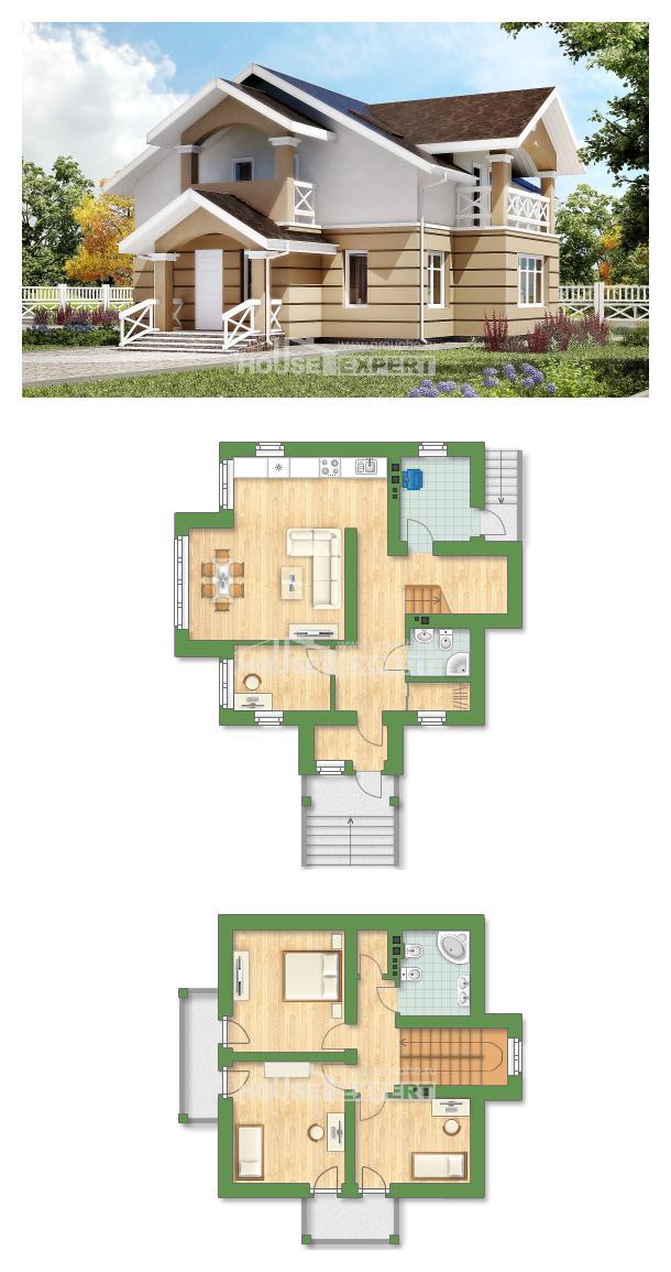 Projekt domu 155-009-R | House Expert