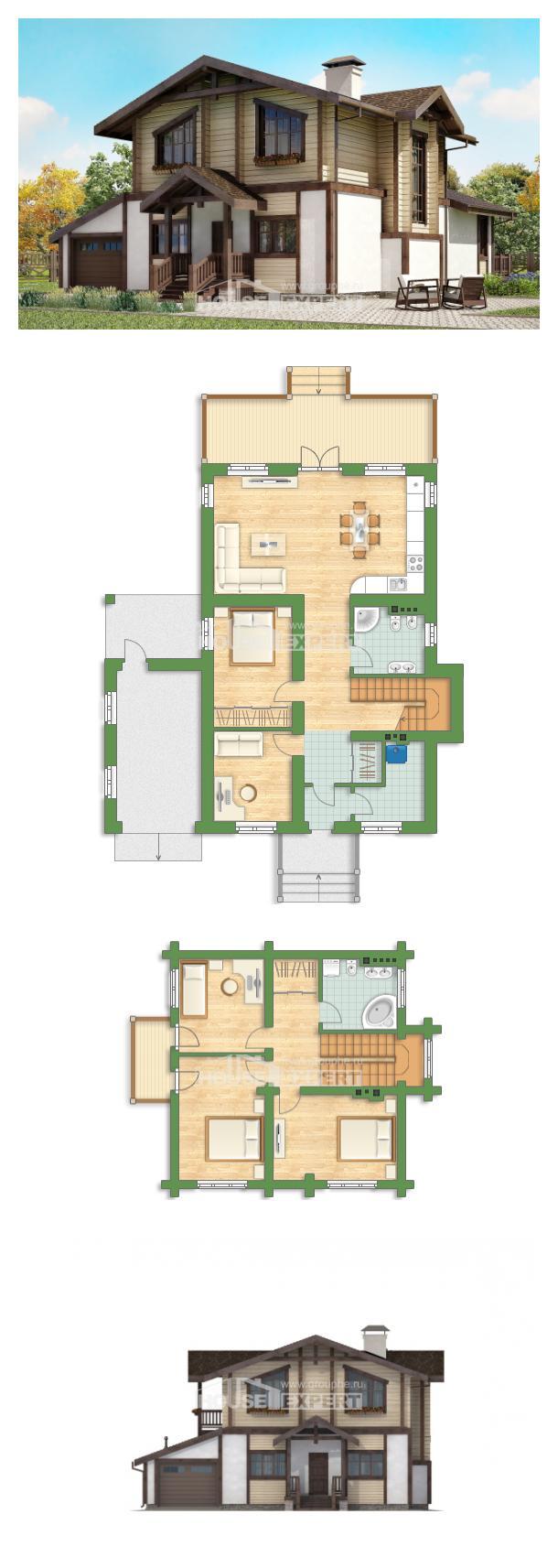 Проект дома 190-004-П   House Expert