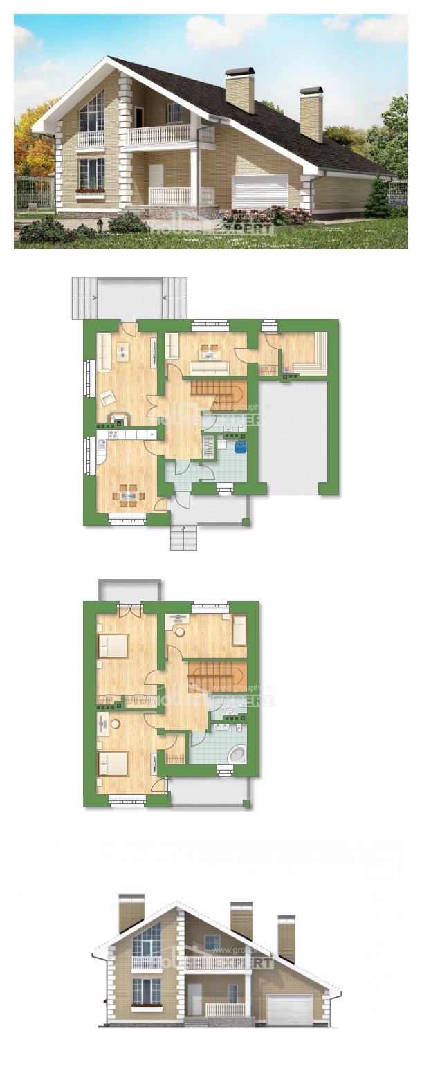 Projekt domu 190-005-R   House Expert