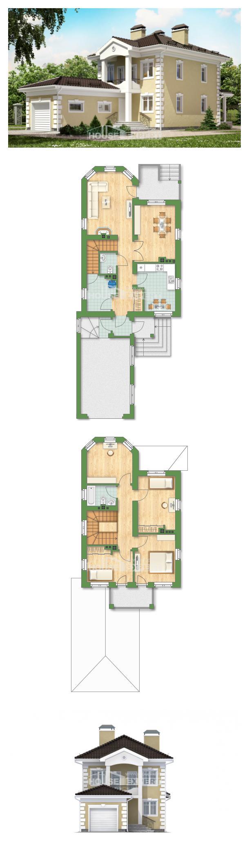 Proyecto de casa 150-006-L | House Expert