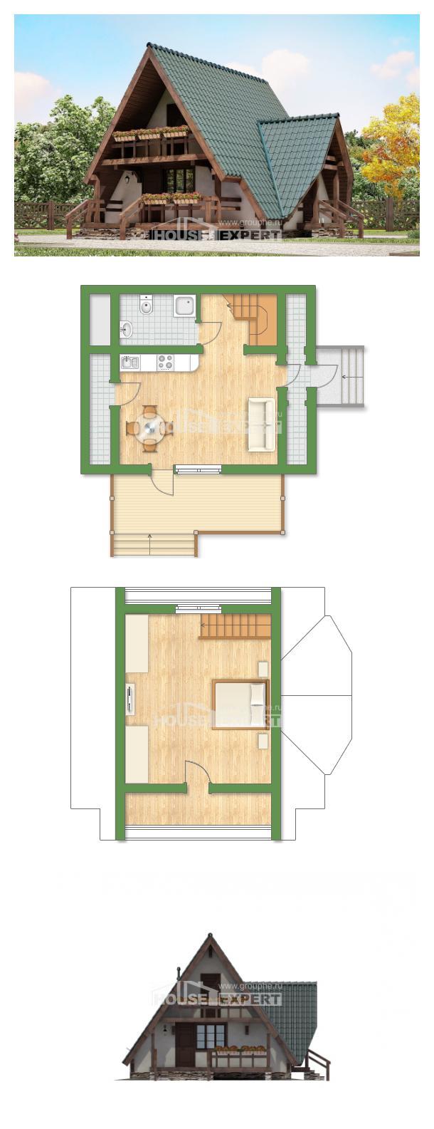Projekt domu 070-003-R | House Expert