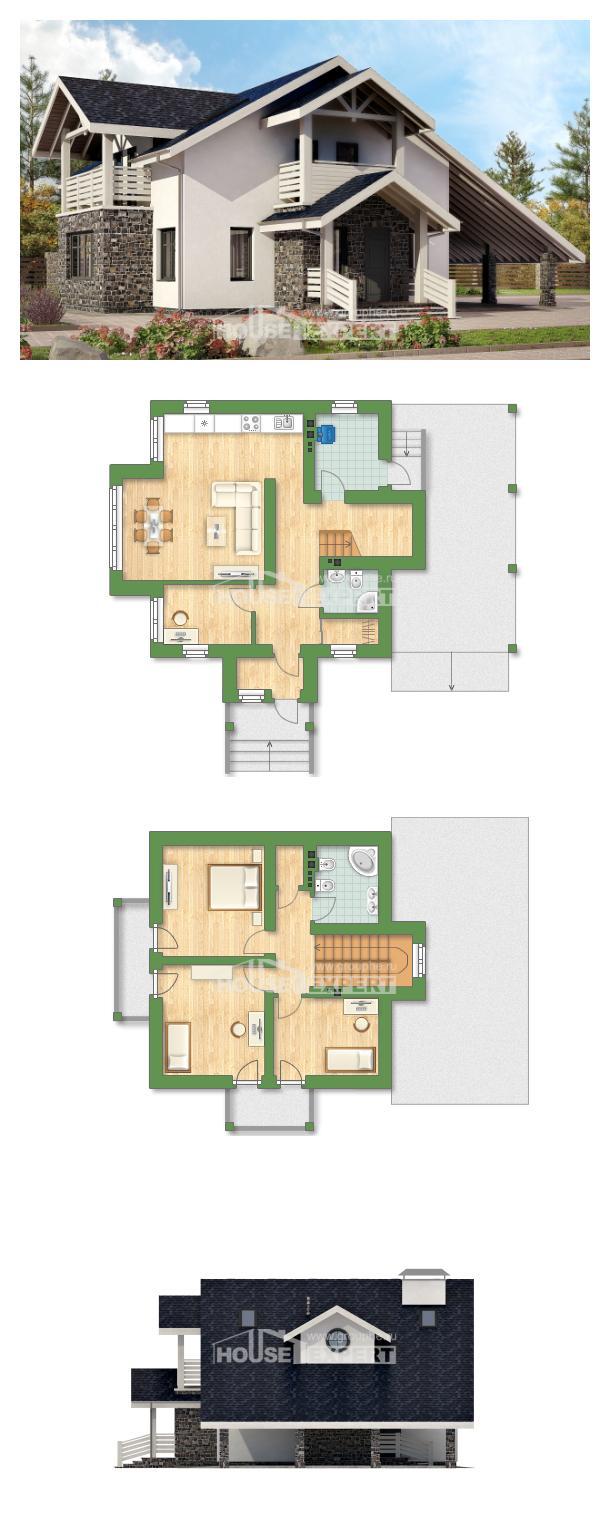 Проект дома 155-010-П   House Expert
