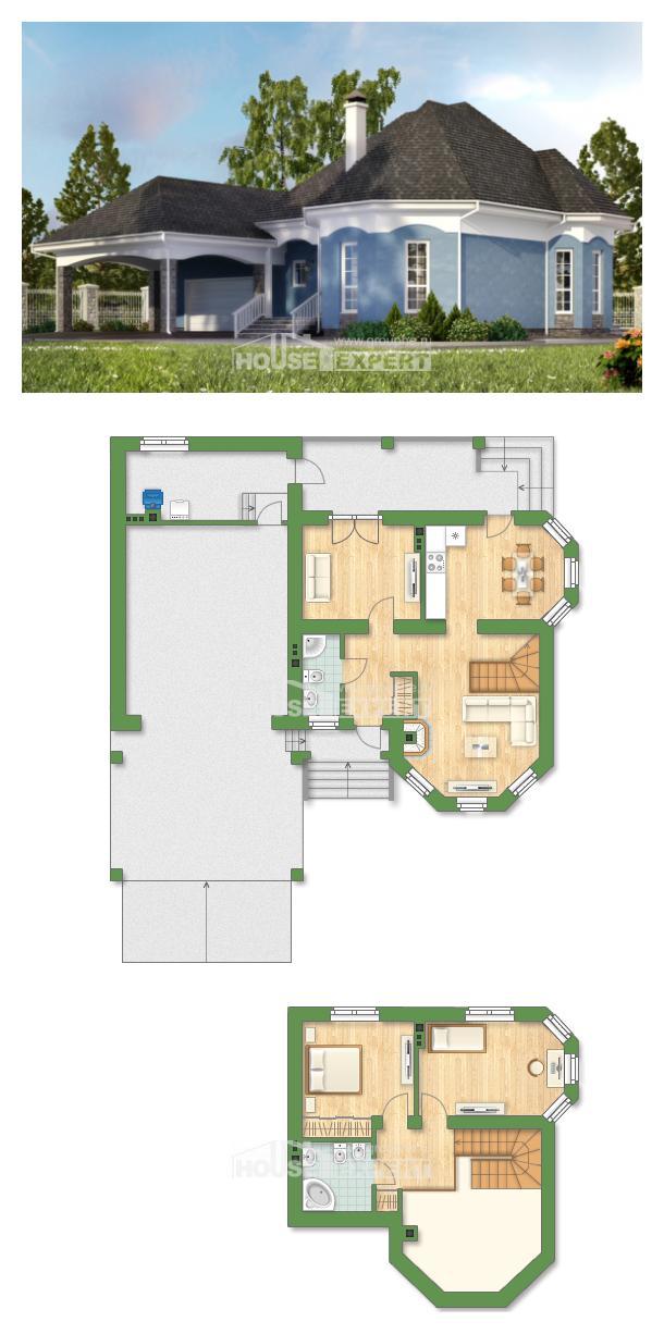 Projekt domu 180-007-L | House Expert