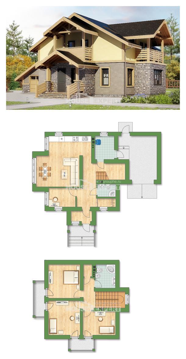 Projekt domu 180-011-R | House Expert