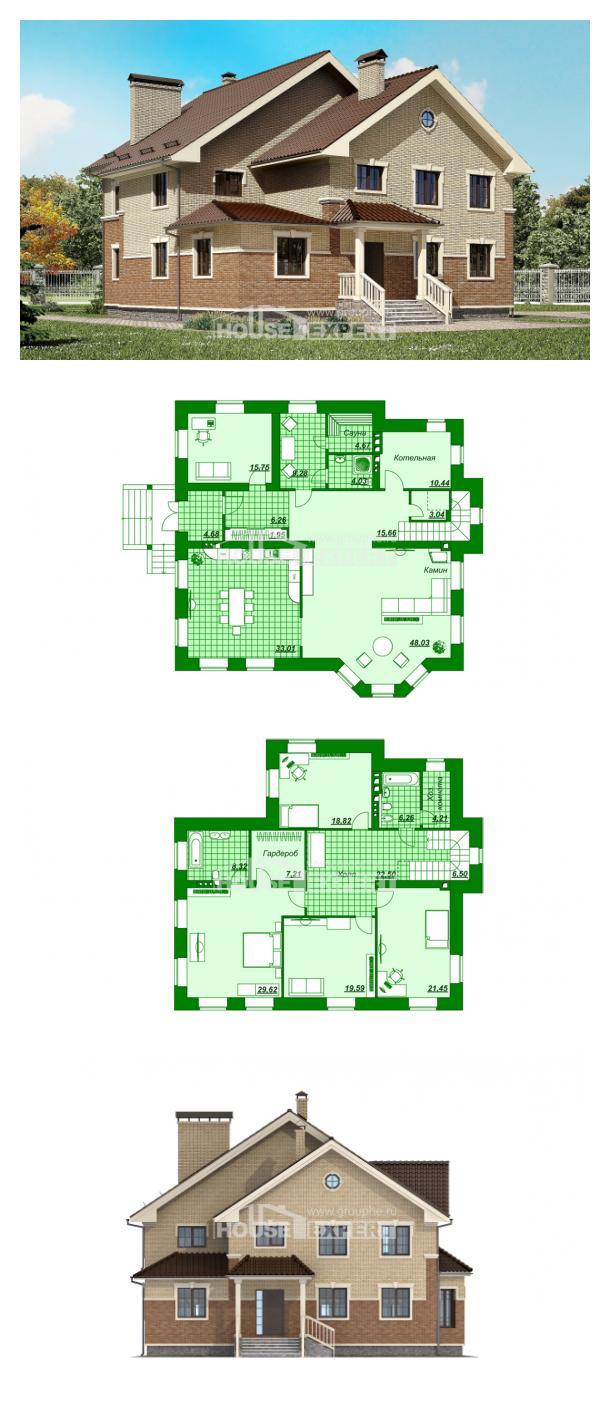 Проект дома 300-004-Л   House Expert