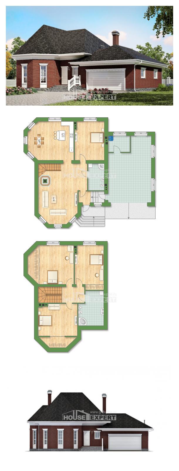 Проект дома 290-002-П   House Expert