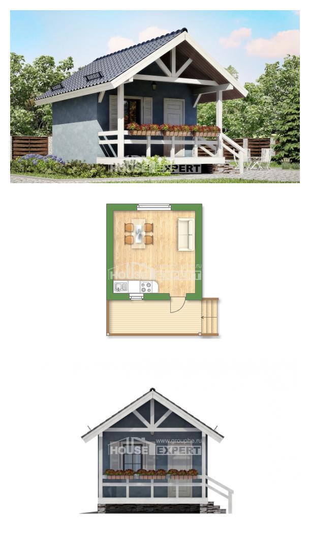 Projekt domu 020-001-R | House Expert