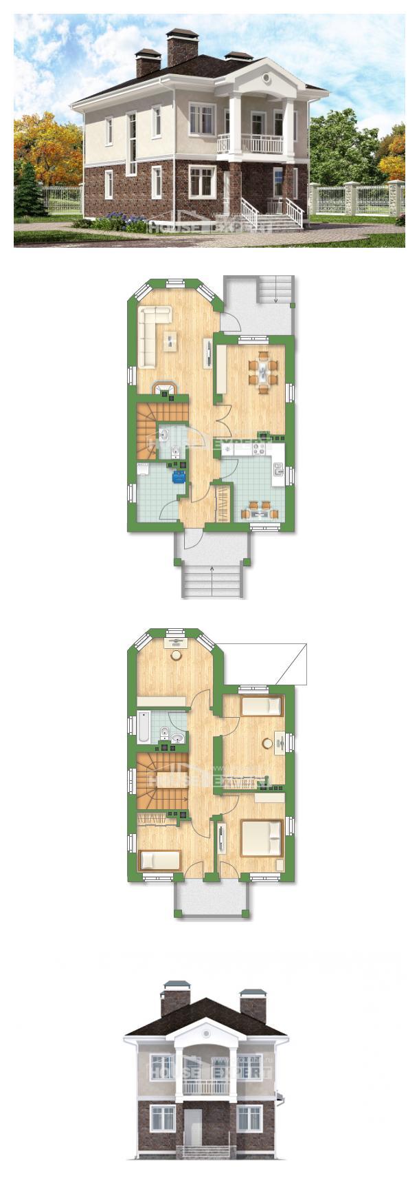 Projekt domu 120-001-L | House Expert