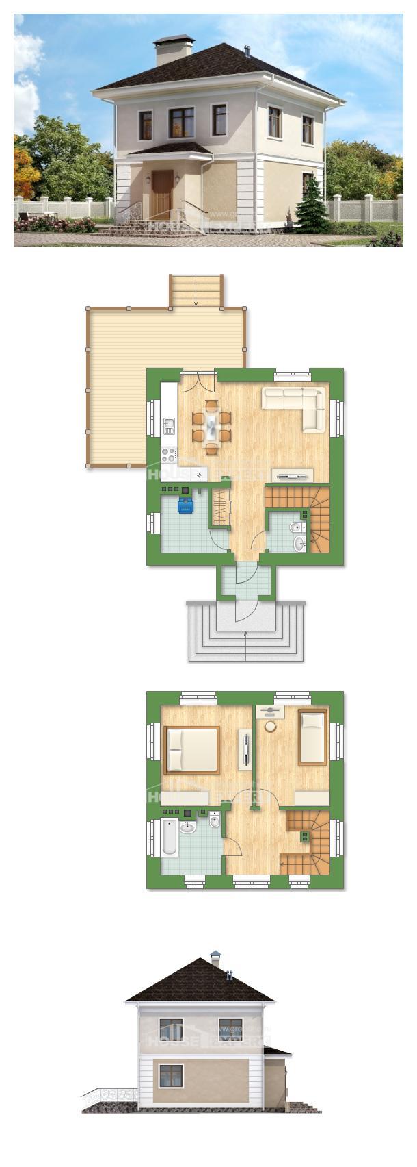 Projekt domu 090-003-L | House Expert