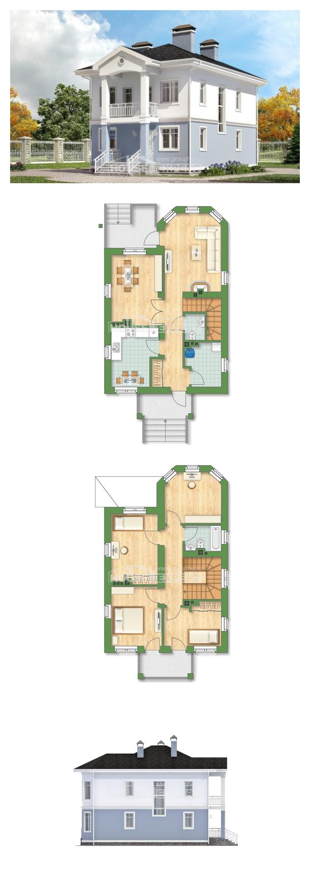 Projekt domu 120-001-R | House Expert