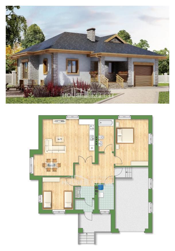Projekt domu 130-006-R | House Expert