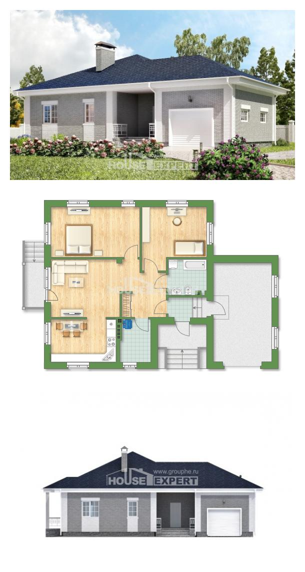 Projekt domu 130-002-R   House Expert