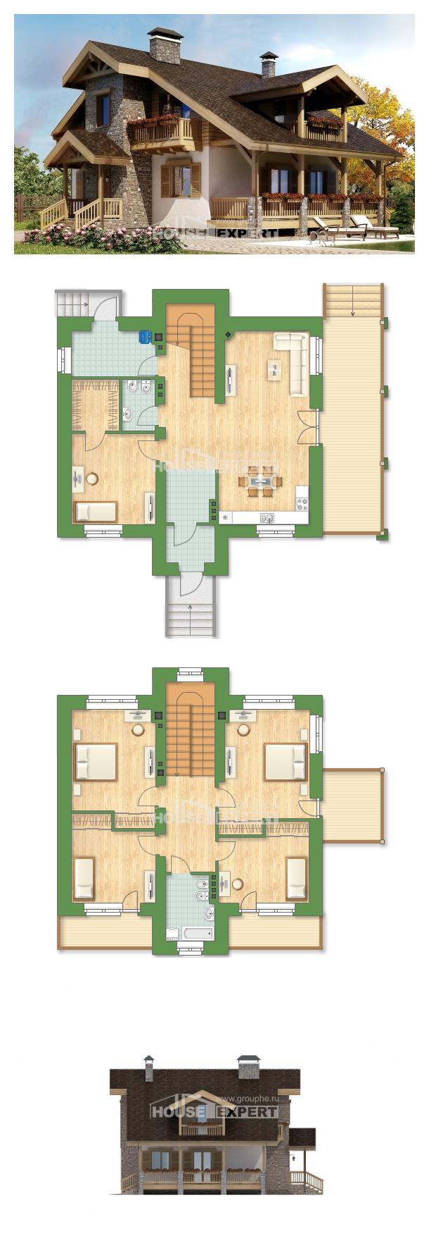 Projekt domu 150-004-R | House Expert