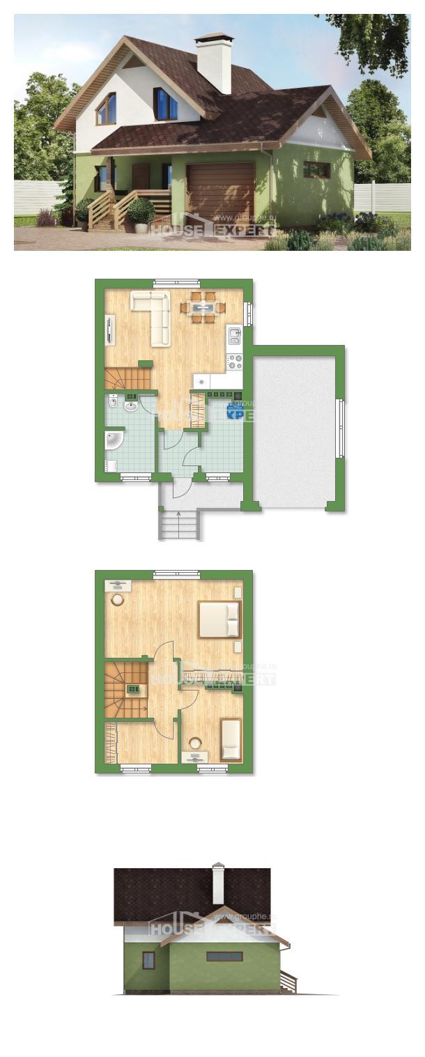 Projekt domu 120-002-R | House Expert