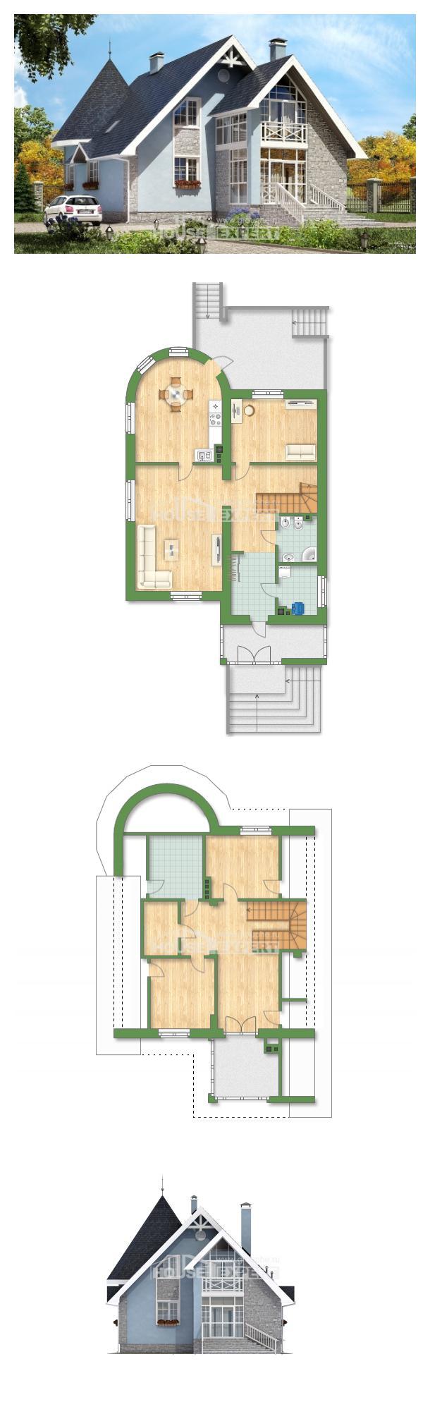 Projekt domu 170-003-R | House Expert