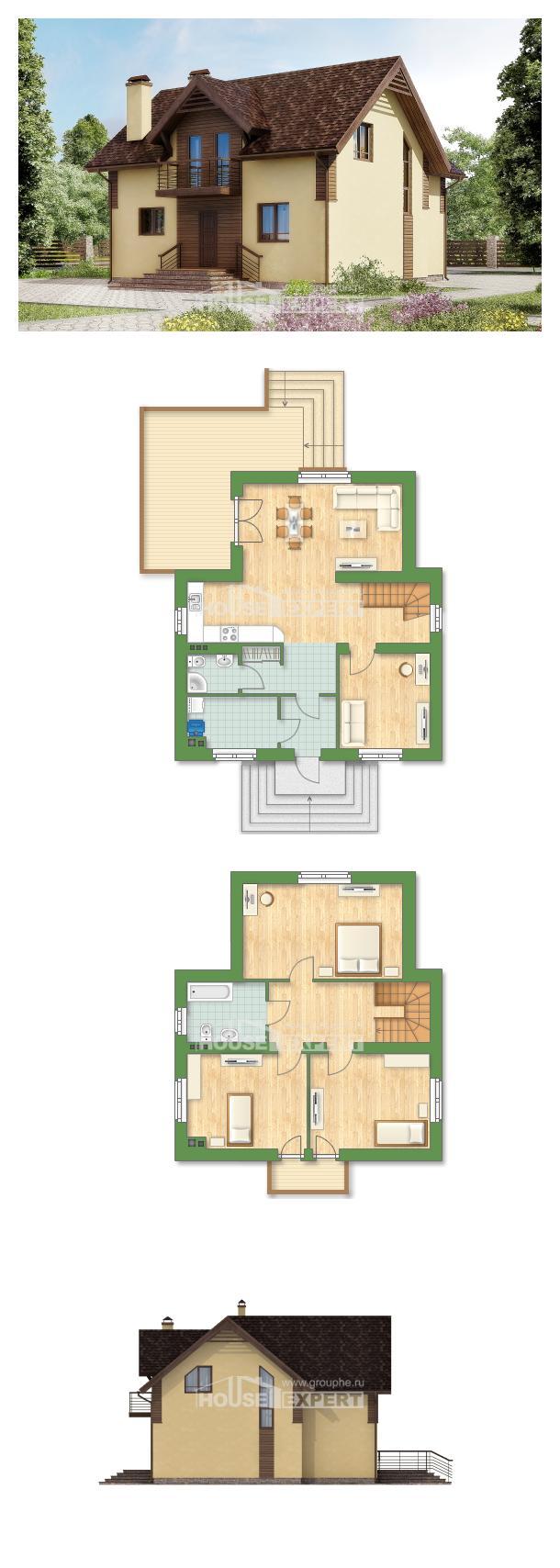 Projekt domu 150-009-L | House Expert