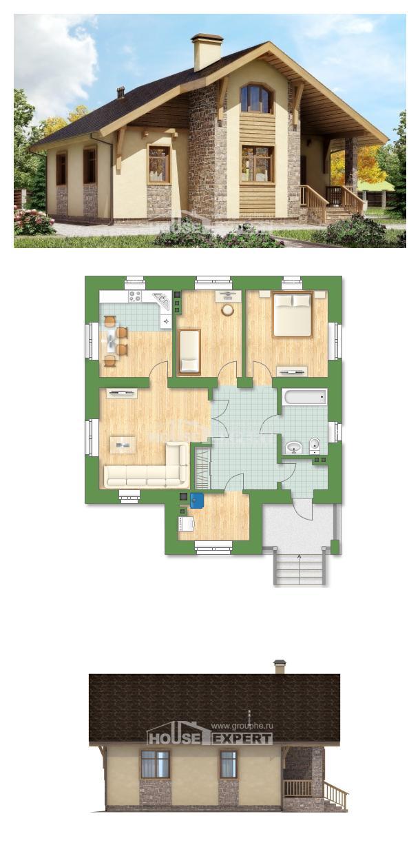 Projekt domu 080-002-R | House Expert