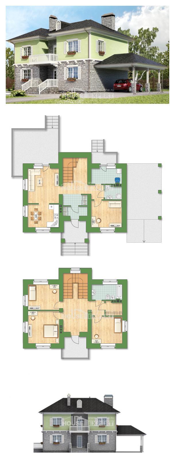 Projekt domu 155-006-R | House Expert