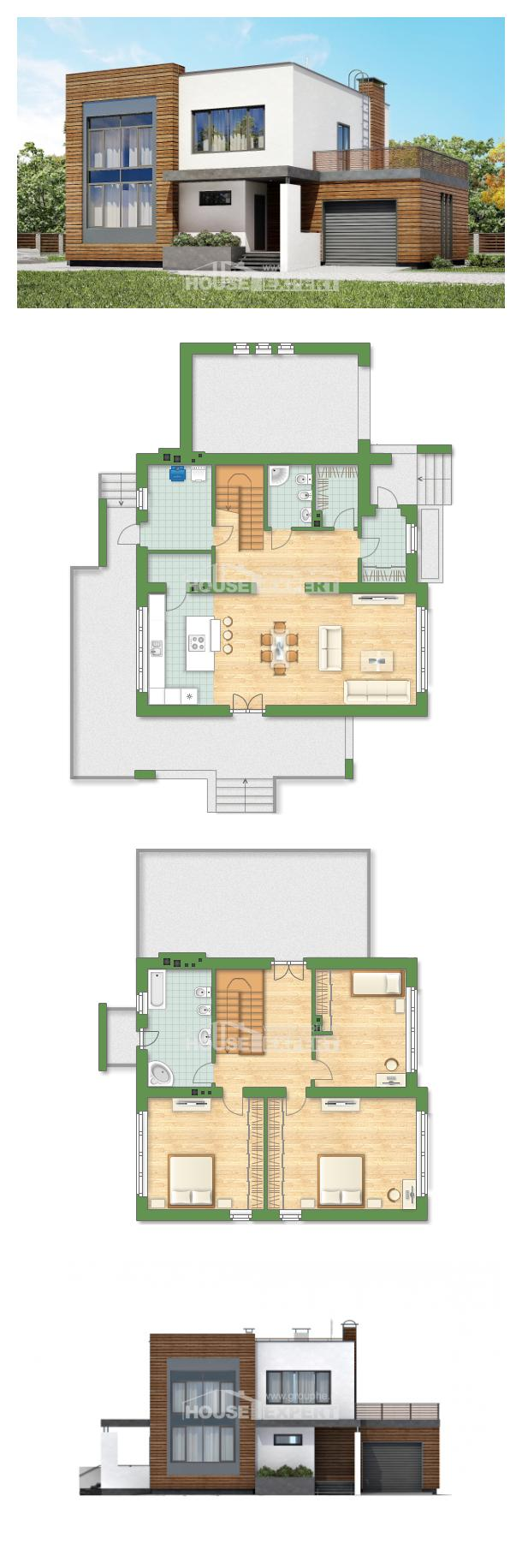 Projekt domu 220-003-R   House Expert
