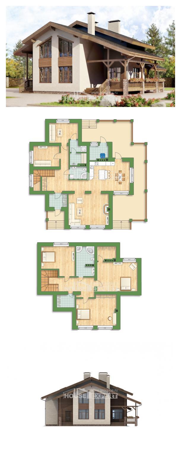 Projekt domu 240-003-R   House Expert
