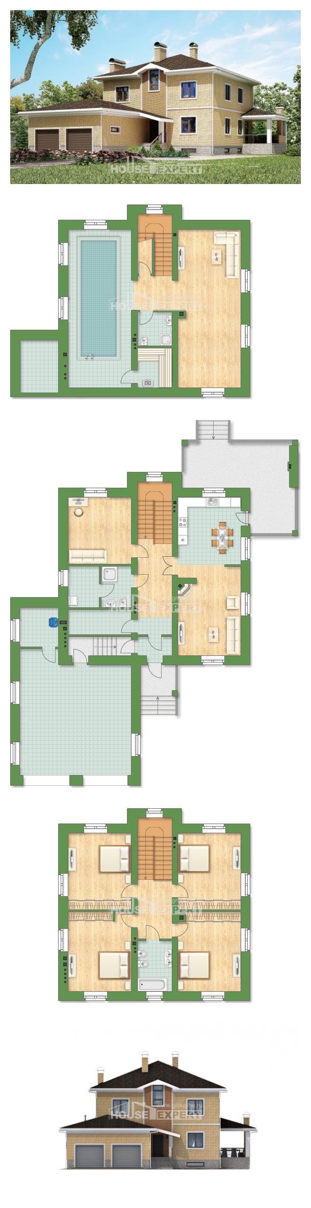 Proyecto de casa 350-002-L | House Expert