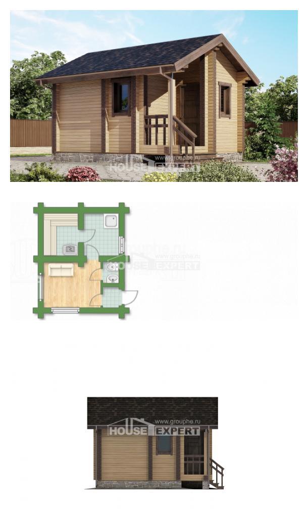 Projekt domu 020-002-R | House Expert