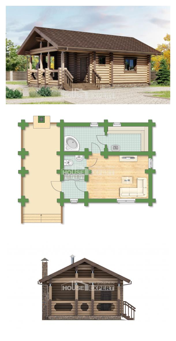 Projekt domu 060-003-R   House Expert