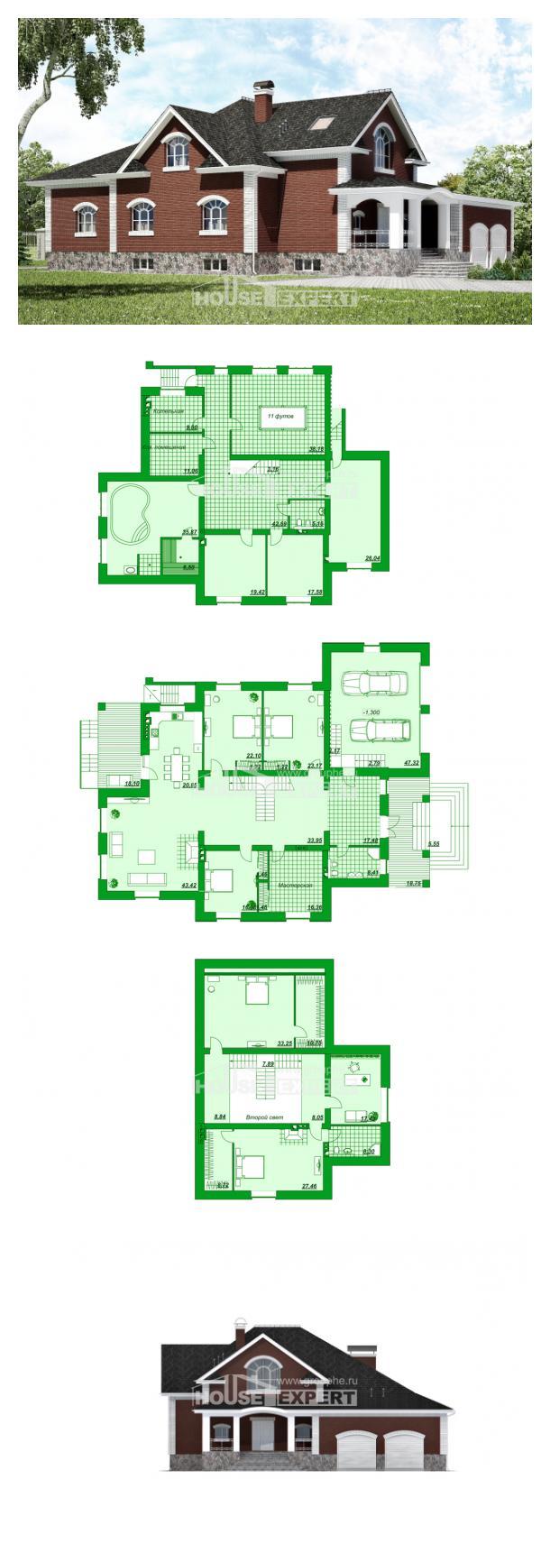 Proyecto de casa 600-001-R | House Expert