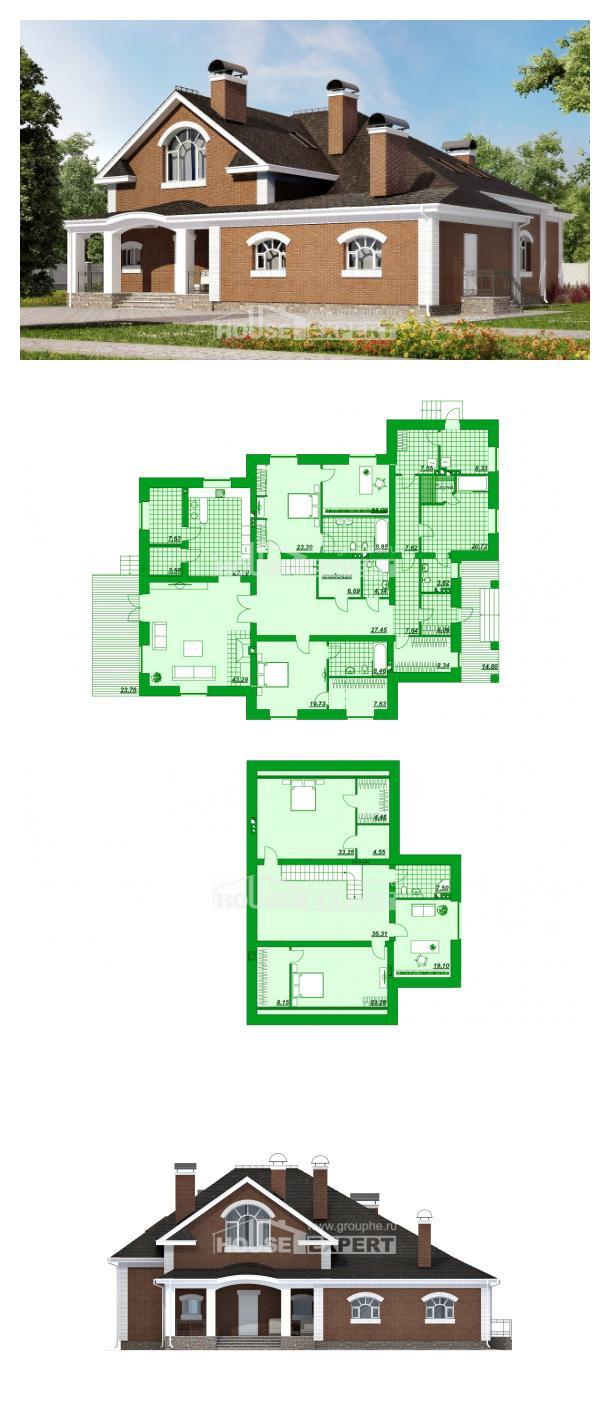 Proyecto de casa 400-003-R | House Expert