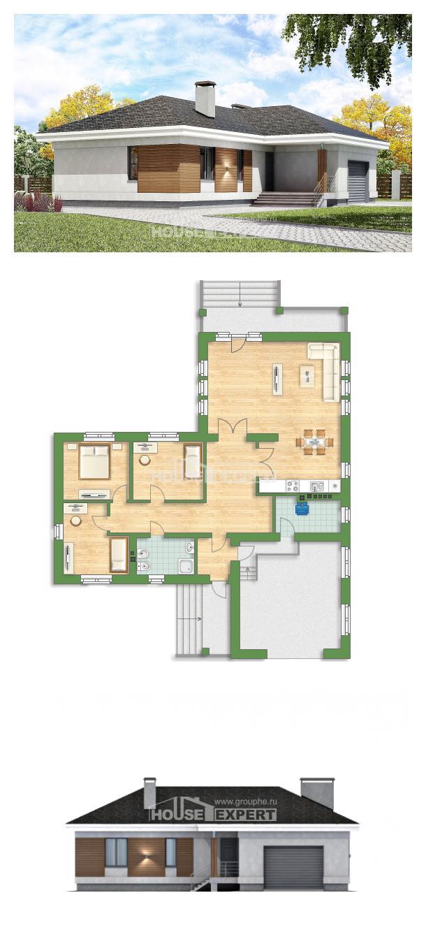 Proyecto de casa 165-001-R | House Expert