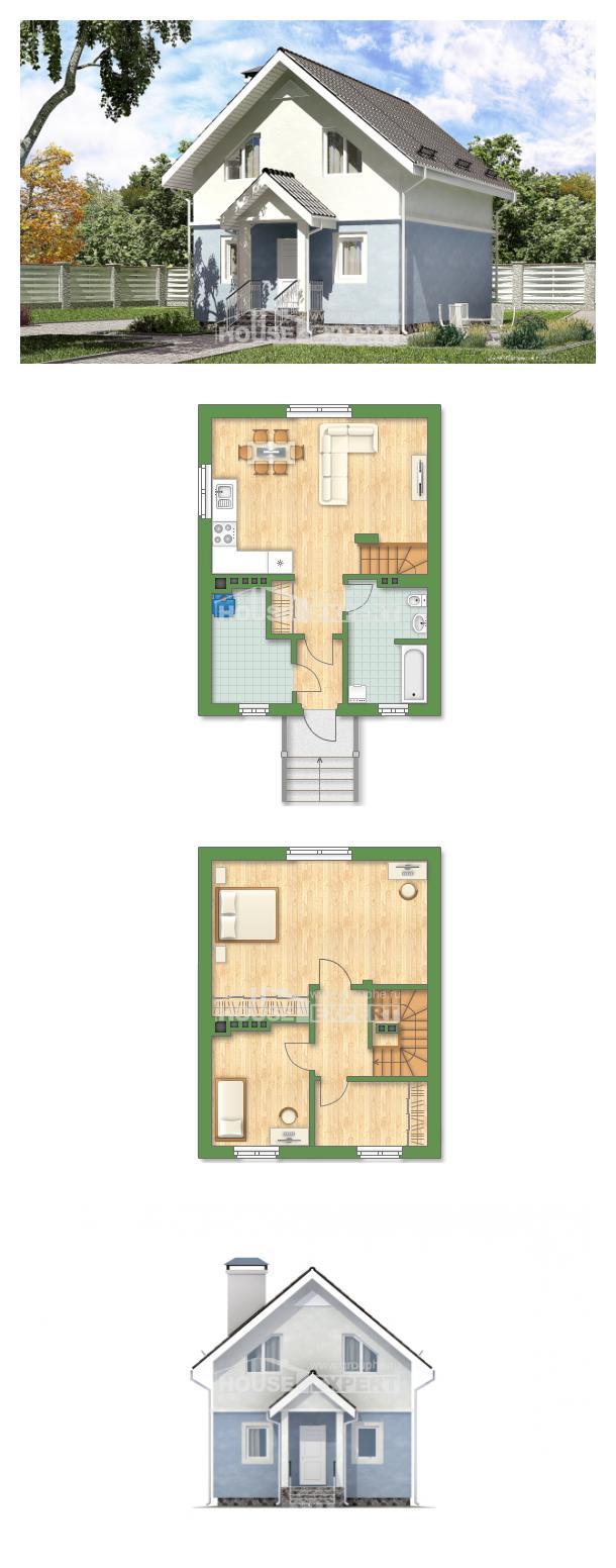 Projekt domu 095-002-R | House Expert