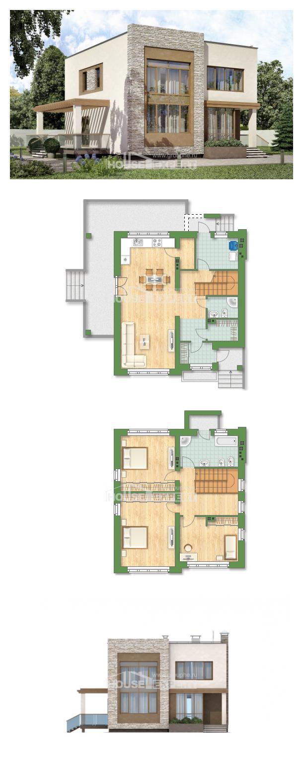 Projekt domu 185-001-R | House Expert