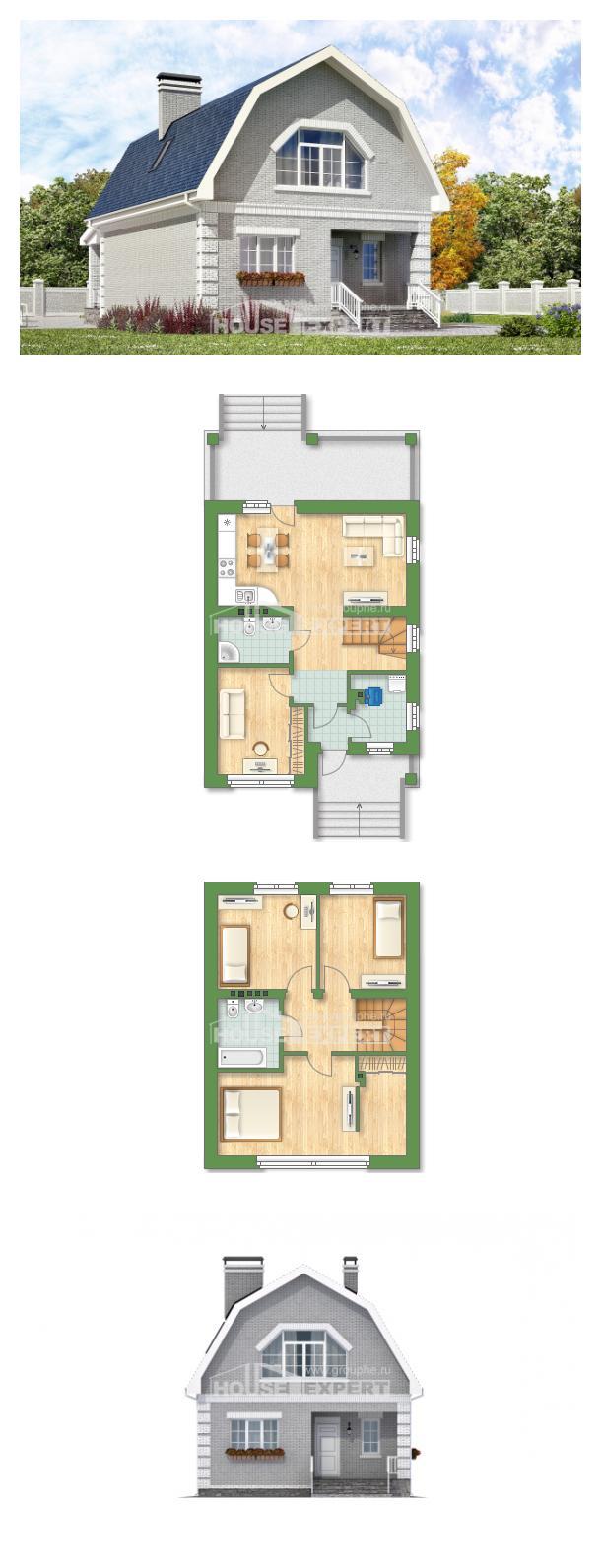 Проект дома 130-005-П | House Expert