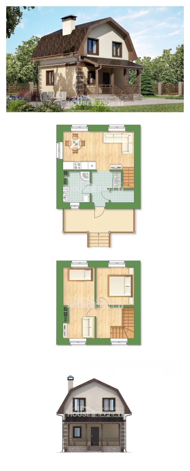 Projekt domu 070-004-R   House Expert