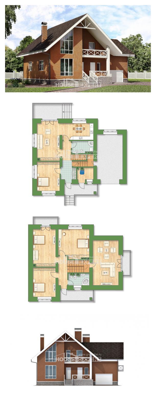 Projekt domu 215-001-R | House Expert