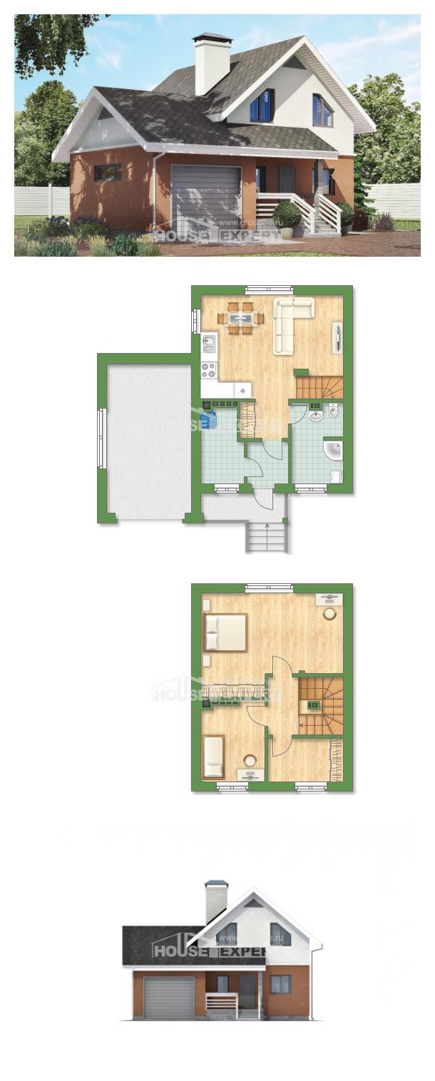 Proyecto de casa 120-002-L | House Expert