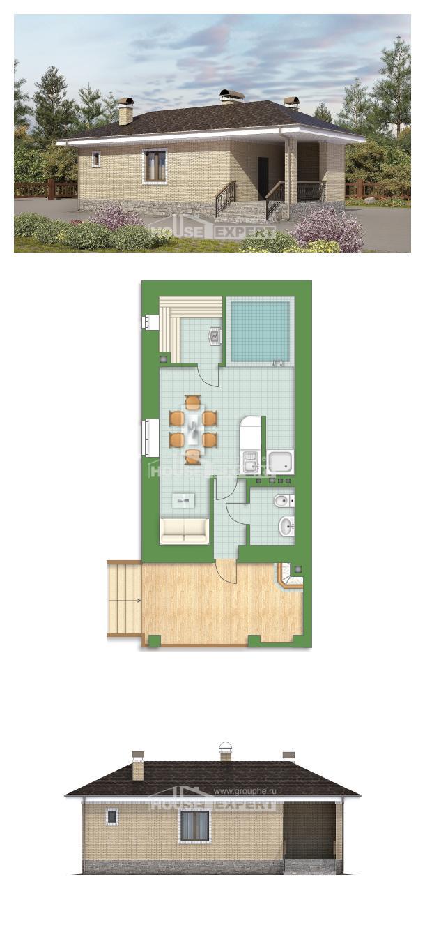 Проект дома 040-002-П | House Expert