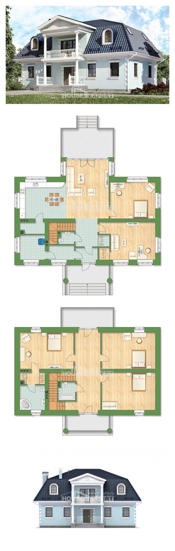 Projekt domu 210-004-L | House Expert