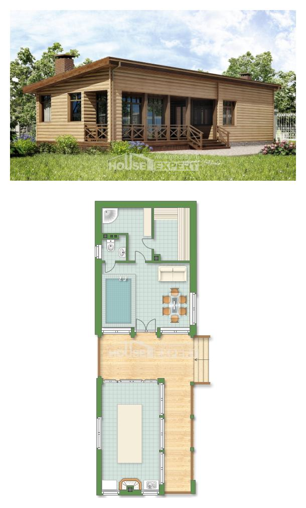 Projekt domu 060-004-R | House Expert