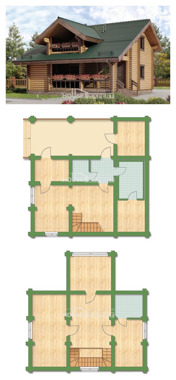 Проект дома 110-005-П   House Expert
