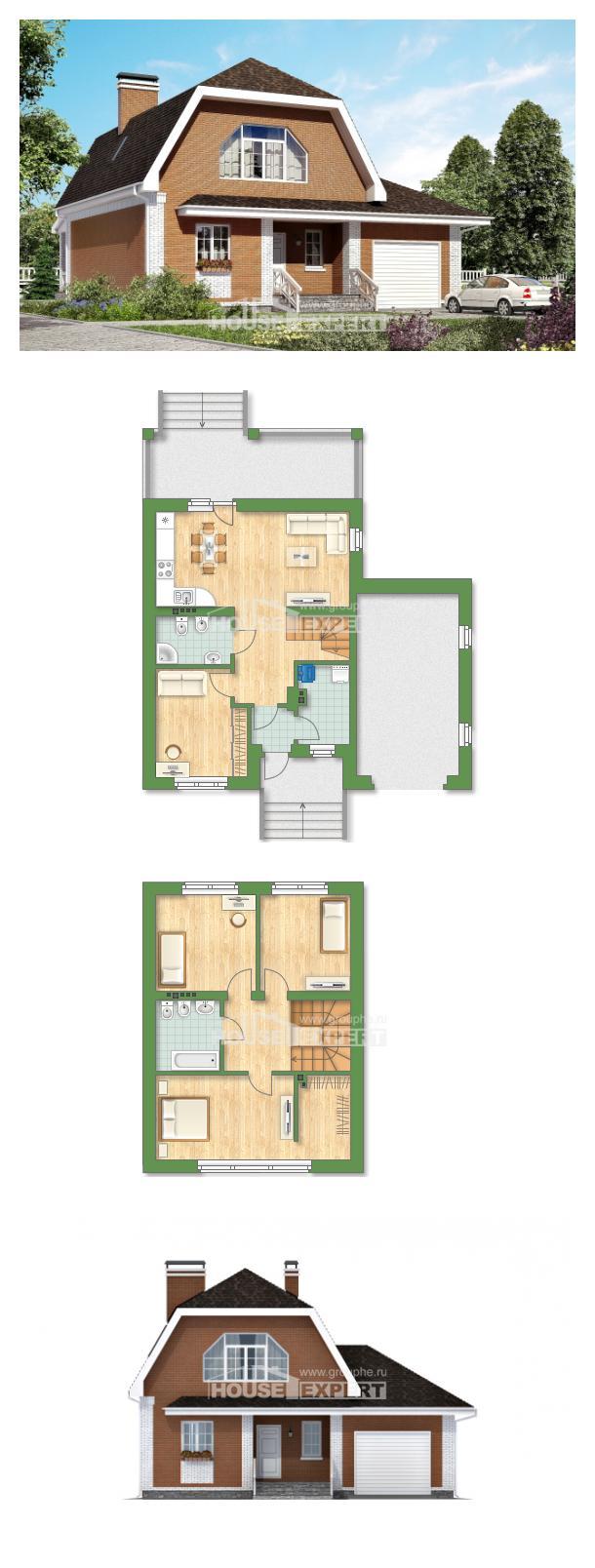 Projekt domu 160-006-R | House Expert