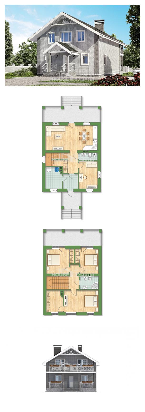 Проект дома 150-007-П | House Expert