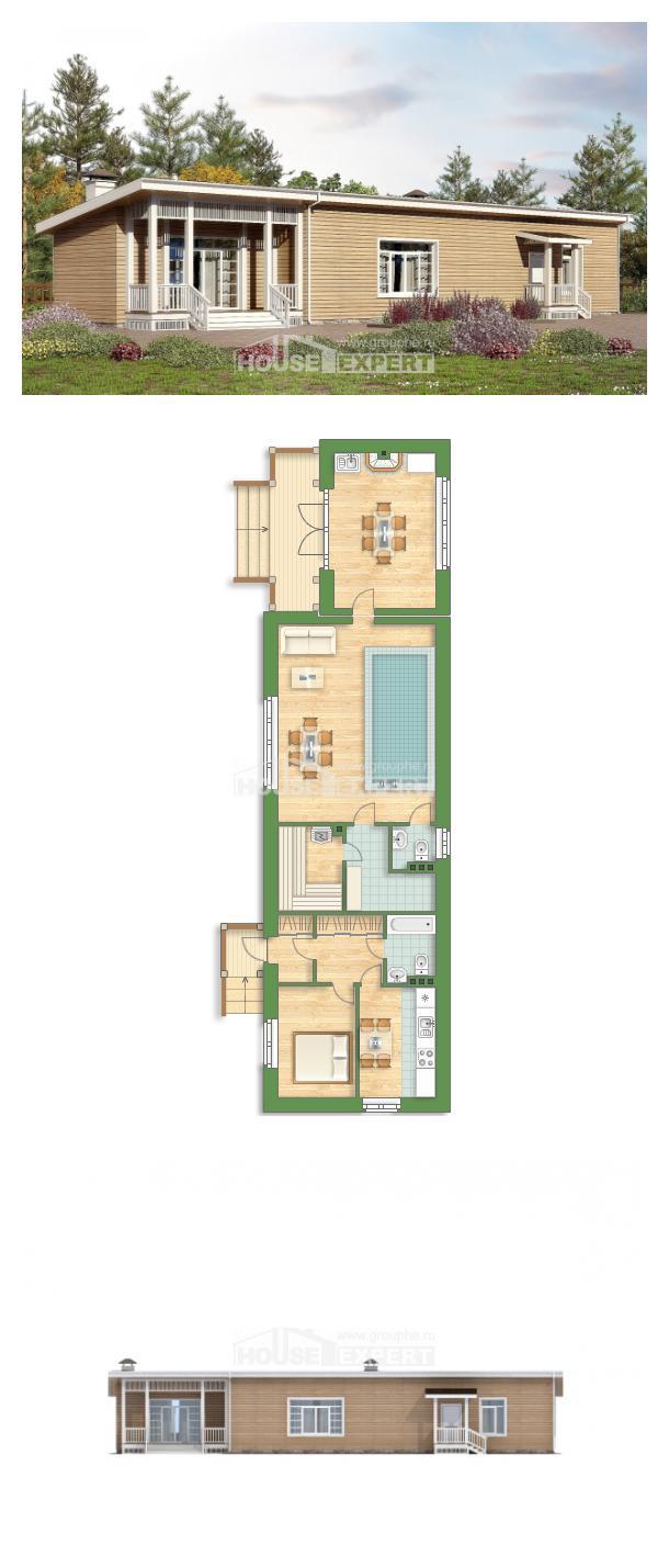 Projekt domu 110-004-L | House Expert