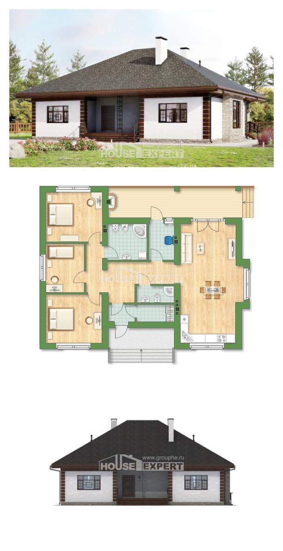 Проект на къща 135-003-R   House Expert