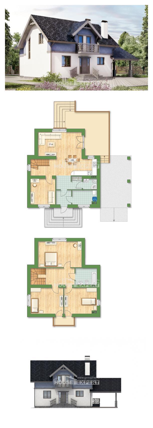Projekt domu 150-011-R | House Expert