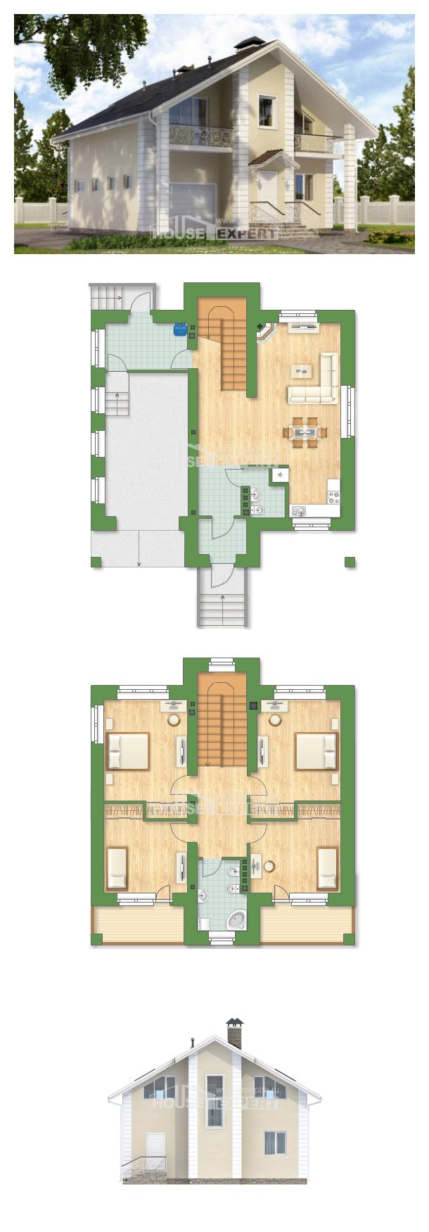 Projekt domu 150-002-L | House Expert